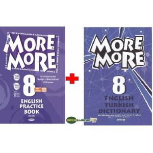 8.Sınıf more more english practice book  dictionary 2019