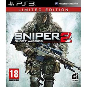 Güvenlik Etiketli Orjinal Ps3 Oyun Sniper Ghost Warrior 2 Limited Edition Playstation 3