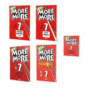7.Sınıf 2019 More and more Set 5 Kitap Word Power Test Book English Practice Book Reading Alley