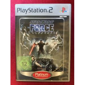 Star Wars  The Force Unleashed  Play Station 2  Ps2  Oyun