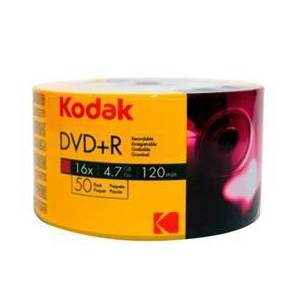 BOŞ DVD KODAK DVDR 16X 4.7 GB 50li VALUE PACK
