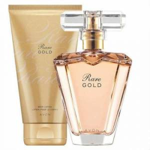 Avon Rare Gold Edp 50 Ml Bayan Parfüm 2li Set