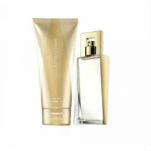 Avon Attraction Edp 50 Ml Bayan Parfüm  Vücut Losyonu 150 Ml 2li Set