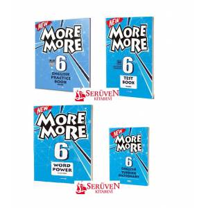 6.Sınıf 2019 More and more Set 4 Kitap Word Power Test Book English Practice Book Dictionary