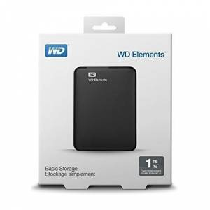 WD Elements  WDBUZG0010BBK-WESN 1TB USB 3.0 2.5