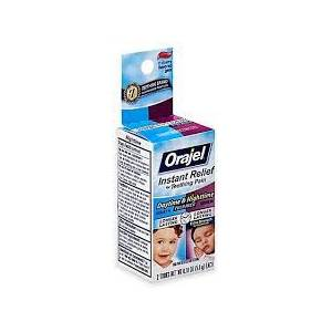 Baby Orajel Twin Pack Daytime and Nighttime Oral Pain Reliever