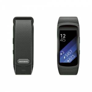 Samsung Gear Fit 2 Dark Gray Large Android ve iPhone Uyumlu