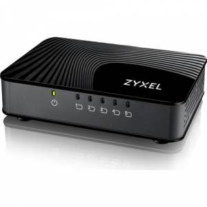 Zyxel Gs105s V2 5-Port Desktop Gigabit 10-100-1000 Zyxel Gs105s V2 5-Port Desktop Gigabit Ethernet