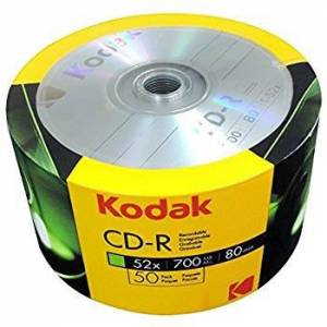 BOŞ CD KODAK CD-R 52x 700 MB 50Lİ CD