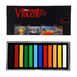 Vincent Soft Pastel 12li Tam Boy