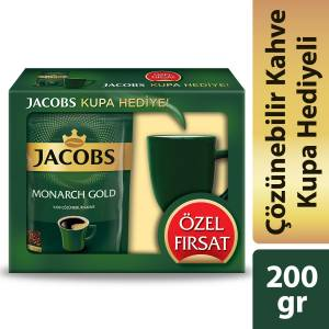 Jacobs Monarch Gold 200 gr  Kupa Hediyeli