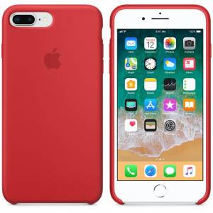 İPHONE 7 PLUS - 8 PLUS SILICONE CASE KIRMIZI