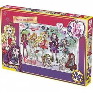 EVER AFTER HİGH ROYALS AND REBELS PUZZLE 120 PARÇA 6846