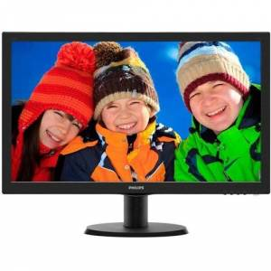 PHILIPS 2361920x10805ms60Hz2Wx VGA-DVISiyah Led Monitör 243V5LAB-01