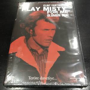 PLAY MISTY FOR ME Clint Eastwood Dvd