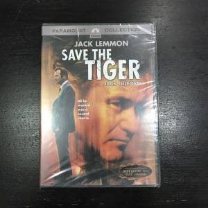 SAVE THE TIGER Jack Lemmon Dvd