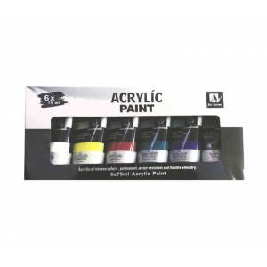 Art Nation Fine Art Akrilik Boya 6 Renk x 75 ml.