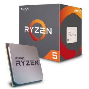 AMD RYZEN 5 2600 3.9GHz 65W Wraith Cooler AM4