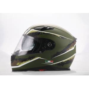 Sway 816 Army Double Vizör Full Face Kask
