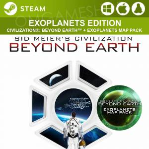PCMACLINUX STEAM SID MEIERS CIVILIZATION BEYOND EARTH  EXOPLANETS CD KEY