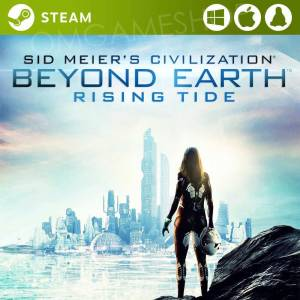 PCMACLINUX STEAM SID MEIERS CIVILIZATION BEYOND EARTH RISING TIDE CD KEY