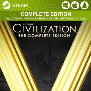 PCMACLINUX STEAM SID MEIERS CIVILIZATION V 5 COMPLETE EDITION CD KEY