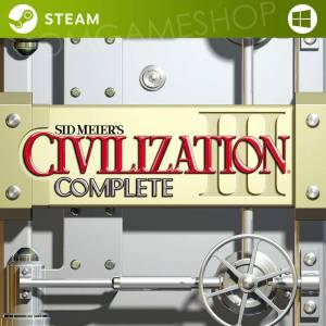 PC STEAM SID MEIERS CIVILIZATION III COMPLETE CD KEY