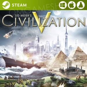 PCMACLINUX STEAM SID MEIERS CIVILIZATION V 5 CIVV CD KEY