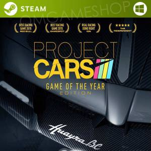 PC STEAM PROJECT CARS GAME OF THE YEAR EDITION CD KEY