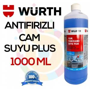 Würth Konsantre Antifrizli Cam Temizleme Suyu Plus 1000 Ml