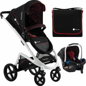 Safe Line Aventador Travel Bebek Arabası Black White