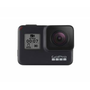 GoPro HERO7 Black Waterproof Digital Action Camera with Touch Screen 4K HD Video 12MP Photos Live