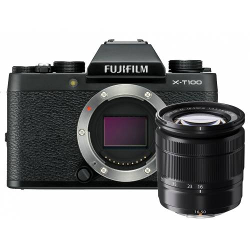 Fujifilm X-T100 + XC 16-50mm F3.5-5.6 OIS II Kit Outlet
