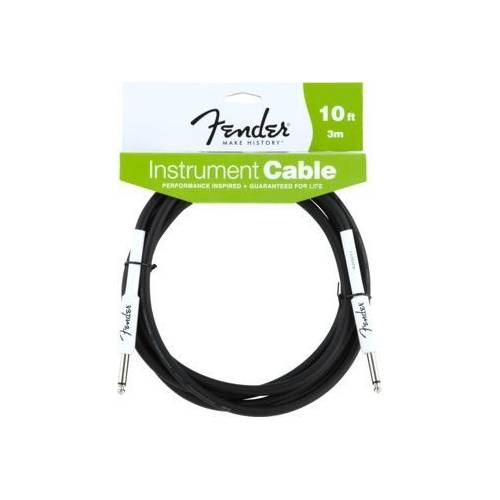 Fender 10' Performance Series Instrument Cable Black Enstrüman Kablosu