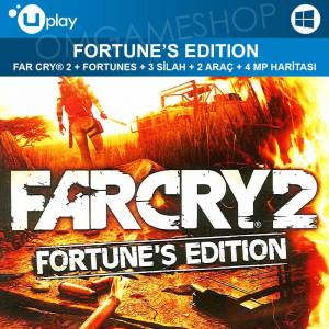 PC UPLAY FAR CRY 2 FORTUNES EDITION CD KEY
