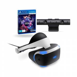 PlayStation VR Sanal Gerçeklik Gözlüğü Virtual Reality Headset Ps4 Camera  VR Worlds