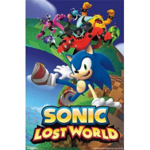 SONIC LOST WORLD MİNİ POSTER İTHAL