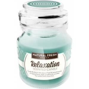 NATURAL FRESH SCENTED CANDLE Relaxation 130 gr.