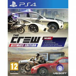 PS4 THE CREW ULTIMATE EDITION PS4 SIFIR 2. BÖLGE GÜVENLİK ŞERİTLİ