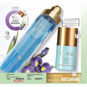 Oriflame Divine Set Bayan Parfüm Edt 50ML Ve Rollon
