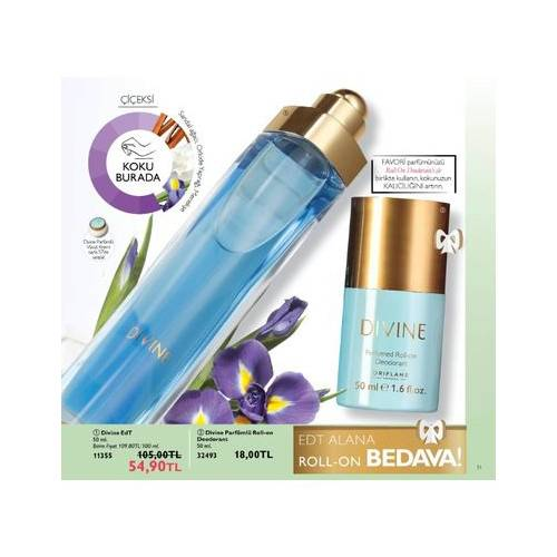 Oriflame Divine Set Bayan Parfüm Edt 50ML Ve Rollon 388811885