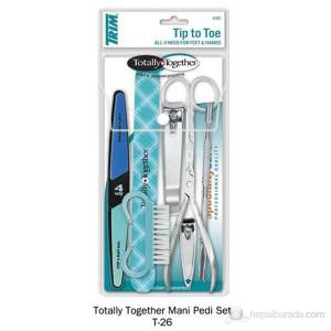 TRIM TOTALYampTOGETHER MANİKÜR PEDİKÜR SETİ 8Lİ