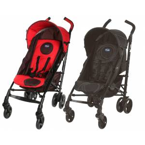Chicco Lite way Plus one baston bebek arabası red