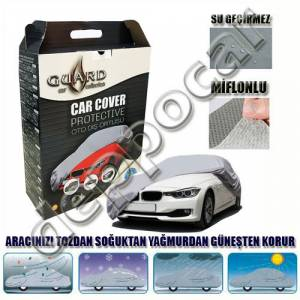 Guard Saab 9-3 Sedan 2003-2014 Miflonlu Branda Gri