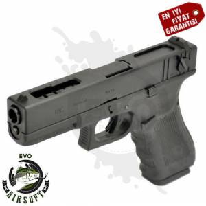 WE G18 Gen3 Black Airsoft Tabancası