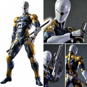 24cm METAL GEAR SOLID Gray Fox Action Figür