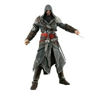Assassins Creed Revelations Ezio Auditore Action Figure KUTUSUNDA