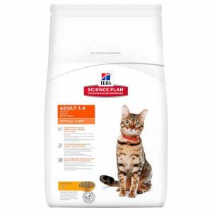 Hills Tavuklu Yetişkin Kedi Maması 15 Kg Adult Optimal Care