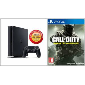 Playstation 4 PS4 Slim 1TB- Türkçe Menü Sony Eurasia  CALL OF DUTY OYUN HEDİYELİ
