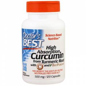 Doctors Best DRB-00107 High Absorption Curcumin with BioPerine 500mg 120 adet